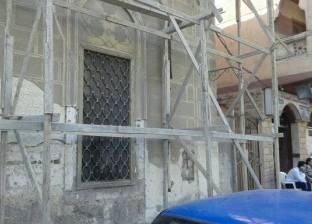 """""""آثار الإسكندرية"""" تبدأ ترميم مسجد إنجي هانم الأثري"""