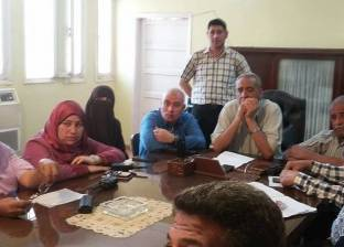 بالصور| رئيس مدينة سيدي سالم يطالب مديري الإدارات بحل مشاكل المواطنين