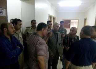 """وكيل """"صحة الشرقية"""" يتفقد سير العمل بمستشفى ديرب نجم المركزي"""