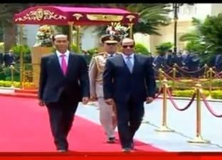 بعد وفاته.. أبرز إسهامات رئيس فيتنام في تعزيز العلاقات الثنائية مع مصر