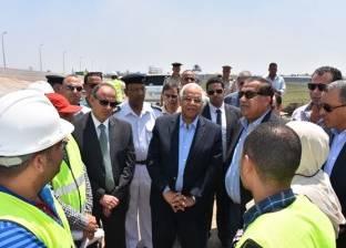 وزير النقل: 800 مليون جنيه لتطوير الطريق الزراعى بالبحيرة