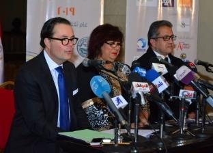 """وزيرة الثقافة والسفير الفرنسي يطلقان فعاليات """"مصر - فرنسا 2019"""""""
