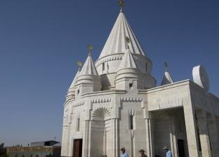 افتتاح أكبر معبد للأيزيديين في العالم في بلدة أرمينية