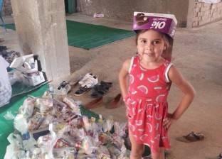حضور مبكر للأطفال أمام المساجد لتجهيز «هدايا العيد»