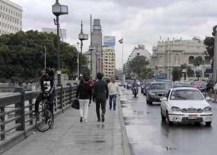 """""""الأرصاد"""": انخفاض تدريجي في درجات الحرارة وسقوط أمطار على القاهرة"""