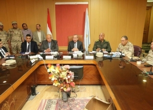 محافظ كفر الشيخ يتابع جاهزية غرف العمليات المركزية والفرعية