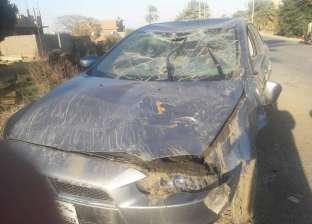 مصرع مهندس وزوجته الحامل في حادث بسوهاج بسبب مطب صناعي