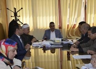 محافظ كفر الشيخ يتابع استعدادات حملة القضاء على الطفيليات المعوية