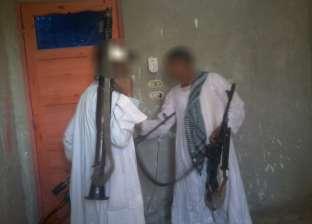 ضبط شرطي بحوزته سلاح ناري بدون ترخيص في المنيا
