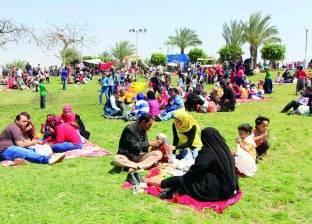 فتح جميع الحدائق العامة بمحافظة المنوفية للاحتفال بأعياد الربيع