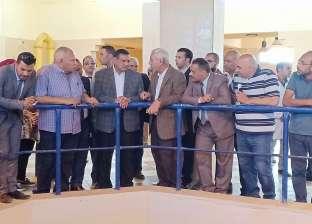 محافظ البحيرة يتفقد توسعات المرحلة الثانية بمحطة مياه أبوحمص