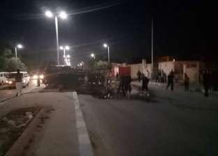 """إصابة شخص في انقلاب سيارة على الطريق الإقليمي """"الضبعة – القاهرة"""""""