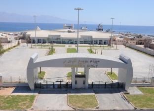 فتح ميناء نويبع البحري بعد تحسن الأحوال الجوية
