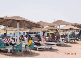 شواطئ البحر الأحمر تستقبل المحتفلين بعيد الفطر.. وفتح المحميات مجانا