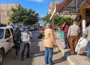 إخلاء سوق الجمعة والحمام في الإسكندرية بسبب كورونا