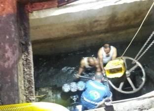 إغلاق مياه الشرب عن طلخا لإصلاح تسريب في الصرف الصحي