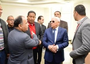 وزير المالية يشيد بالمبنى الإداري الجديد للتأمين الصحي ببورسعيد