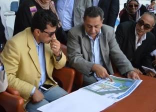 وزير الرياضة يطلع على مخطط تطوير مركز شباب استاد بورسعيد