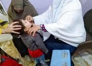«صحة المنوفية»: حملة التطعيم ضد شلل الأطفال تستهدف 659 ألف طفل