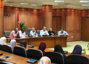 محافظ بورسعيد: وضع خطة للمرور على محطات الصرف الصحي