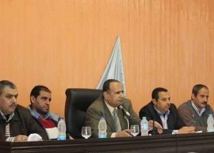 بالصور  رئيس مدينة دسوق يوجه الأجهزة التنفيذية لحل شكاوى الأهالي