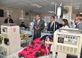 محافظ أسيوط يفتتح أول وحدة غسيل كلوي للأطفال بمستشفى الإيمان العام