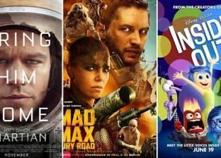 بالفيديو| أفضل 10 أفلام أجنبية لعام 2015 بتقييم الجمهور