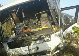 ارتفاع عدد مصابي حادث الطريق الصحراوي ببني سويف لـ24 مصابا