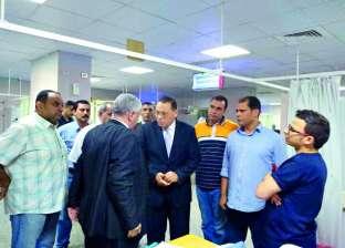 محافظ الشرقية يفتتح وحدة الغسيل الكلوي في مستشفى ديرب نجم