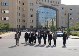 جامعة كفر الشيخ تسارع الزمن لاستكمال أعمال الإنشاءات الجديدة