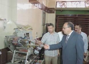 ضبط صاحب مصنع بـ17 ألف قطعة حلوى مجهولة المصدر