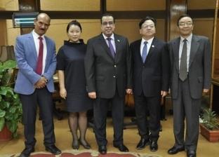 رئيس جامعة القناة يستقبل وفد جامعة كون دونج ننجوا الصينية