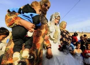 """بعد طرد تنظيم """"داعش"""" الإرهابي من مدينة """"الرقة"""".. حفل زفاف ووصلة رقص"""