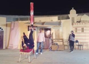 بالصور| حضور كثيف لليالي رمضان الثقافية في حديقة بالسيدة زينب