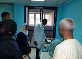 جامعة الأزهر تتابع حالة طالب سقط من قطار