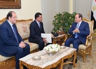 رئيس جهاز المخابرات السوداني يسلّم السيسي رسالة من عبدالفتاح البرهان