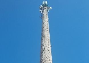 تشميع برج محمول داخل مخازن خردة مخالفة بمرسى مطروح