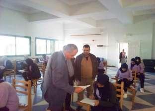 """بالصور  مدير """"صحة البحر الأحمر"""" يتفقد لجان امتحانات مدرسة التمريض"""