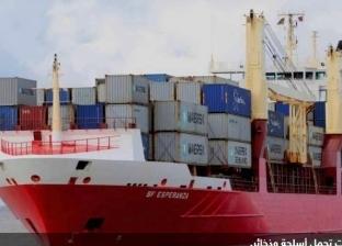 ميناء شرق بورسعيد يستقبل 3 سفن حاويات