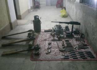 ضبط أسلحة نارية دون ترخيص في الإسكندرية
