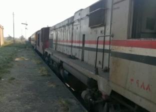 مصرع سائق صدمه قطار أثناء عبوره السكة الحديد في البحيرة