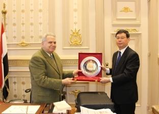رئيس محكمة النقض يبحث التعاون القضائي بين مصر والصين