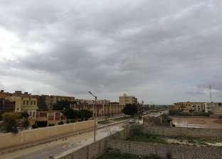 سقوط ثلوج وأمطار غزيرة على مطروح والساحل الشمالي