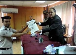 بالصور| مدير أمن كفر الشيخ يكرم أفراد الشرطة المتميزين