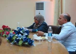 بالصور| رئيس مدينة دهب يقيم إفطارا جماعيا للعاملين بالمجلس