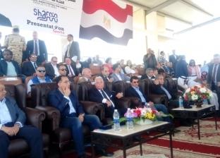 بالصور| رئيس الوزراء يشهد انطلاق مهرجان الهجن بشرم الشيخ
