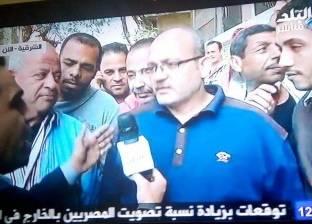 """ناخب يخطئ في اسم السيسي: """"كلنا مع الرئيس محمد عبدالفتاح السيسي"""""""