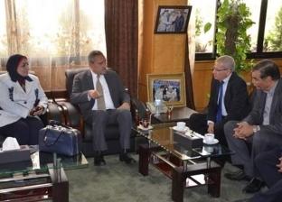 محافظ الإسماعيلية يستقبل نائب وزير التعليم الفني لمناقشة سبل التطوير