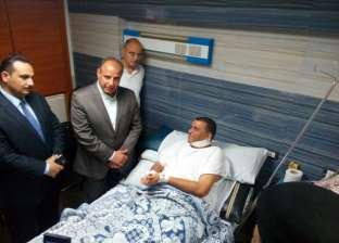 محافظ الإسكندرية يطمئن على حالة مصاب كنيسة القديسين: الإرهاب لا دين له