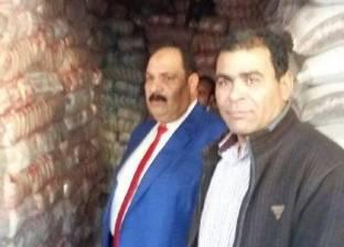 ضبط اختلاس 35 طن أرز تمويني لدى فرع الشركة المصرية في الفيوم